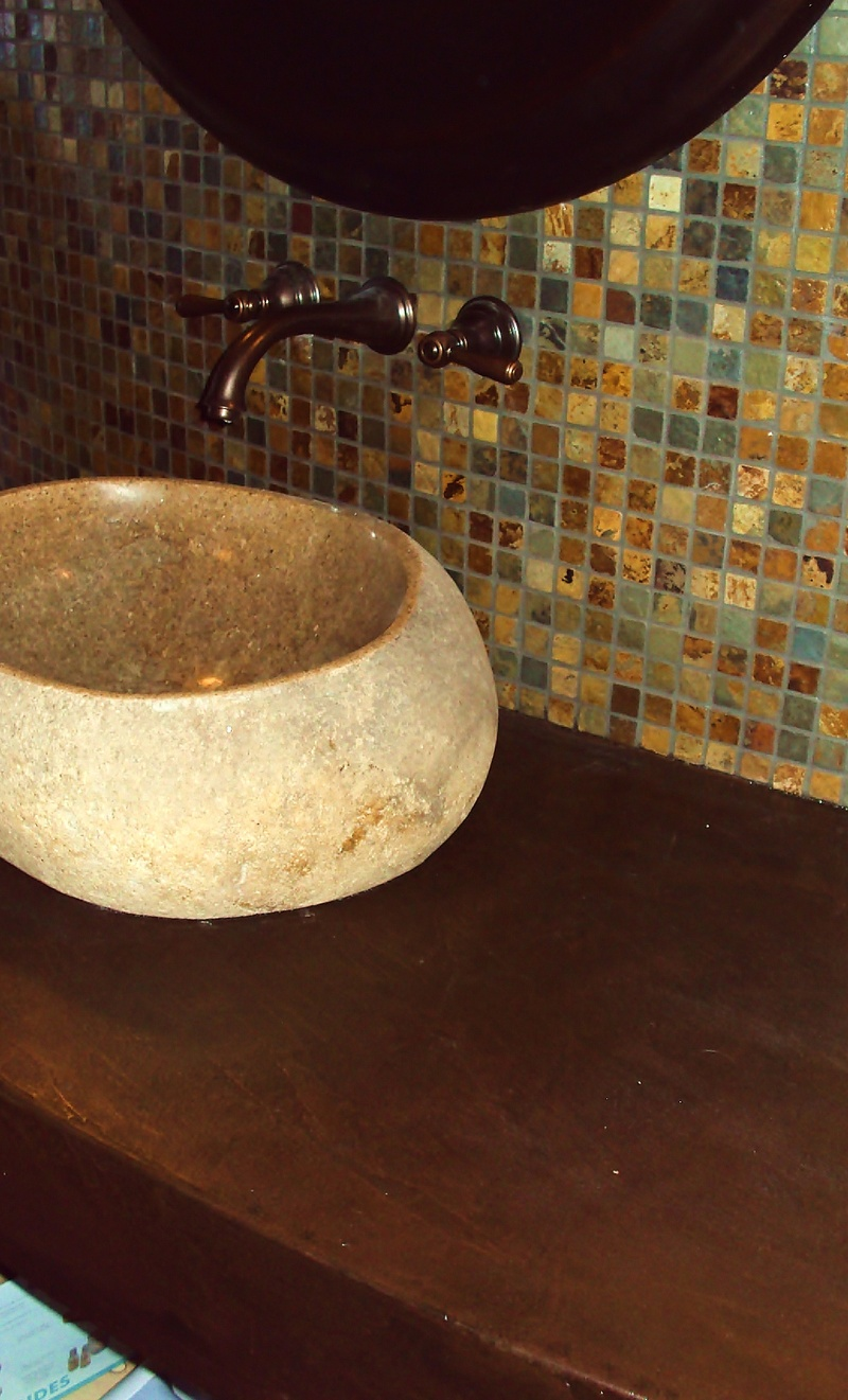 Stone Effects Cement Countertop